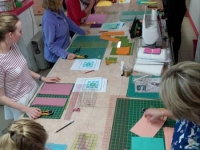 Patchwork measuring and cutting
